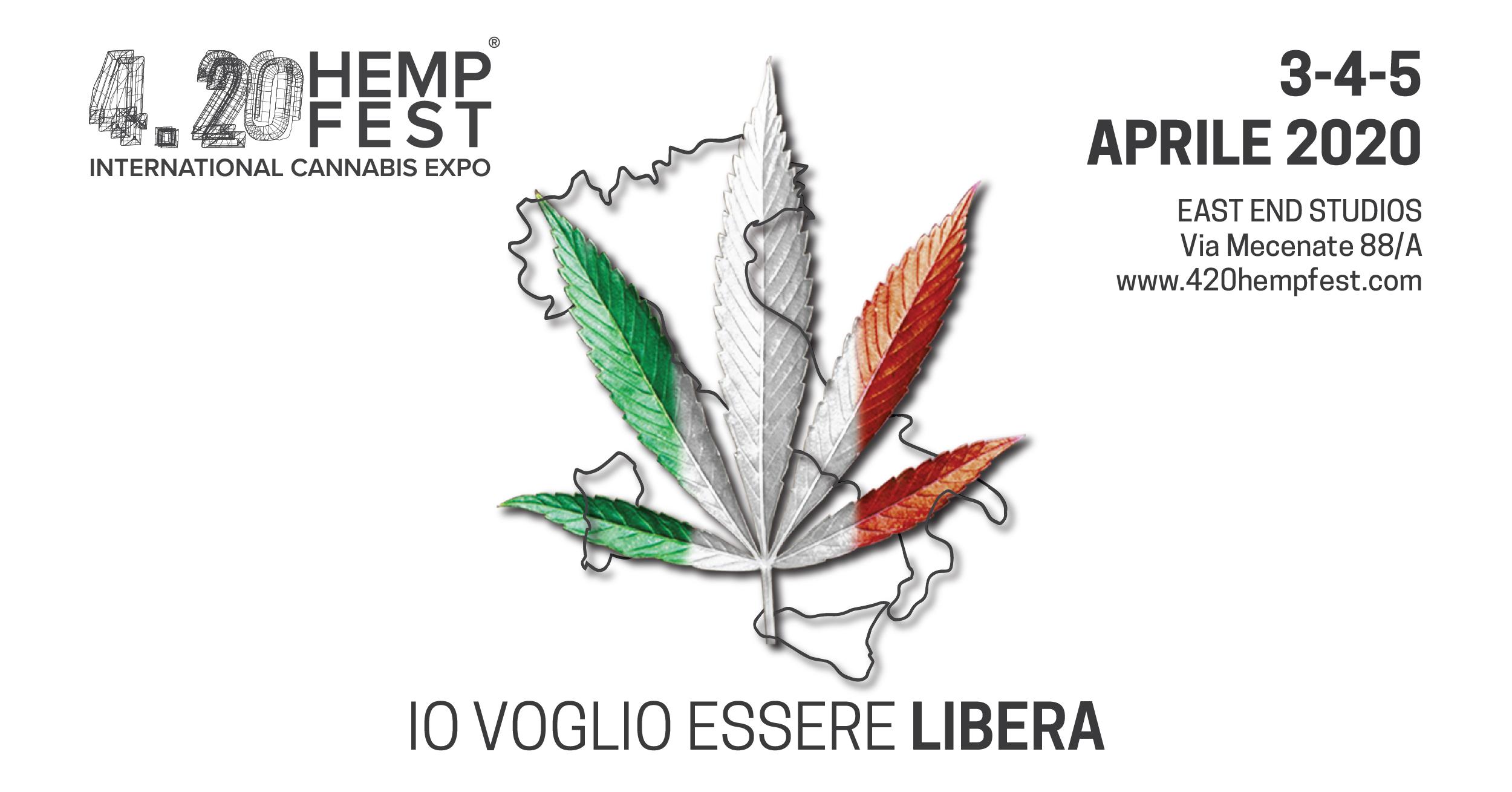 Calendario Fiere Milano 2020.4 20 Hemp Fest 2020 Fiera Internazionale Della Canapa
